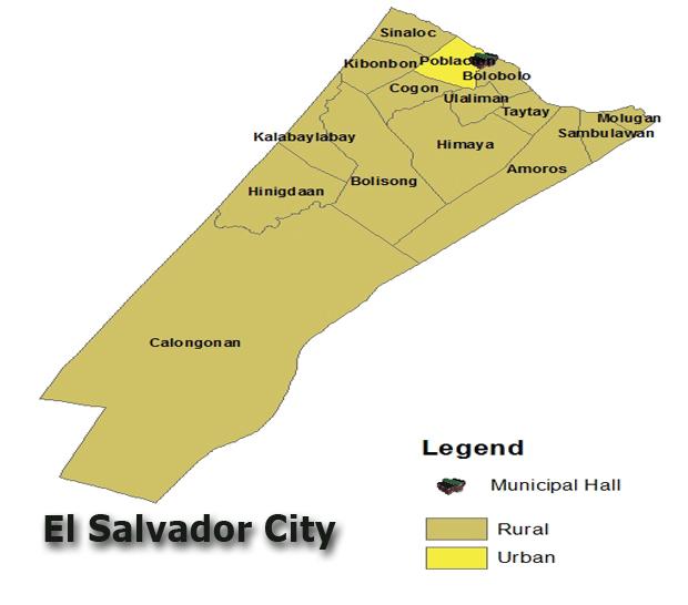 El Salvador City The Golden Routes - Cities map el salvador map