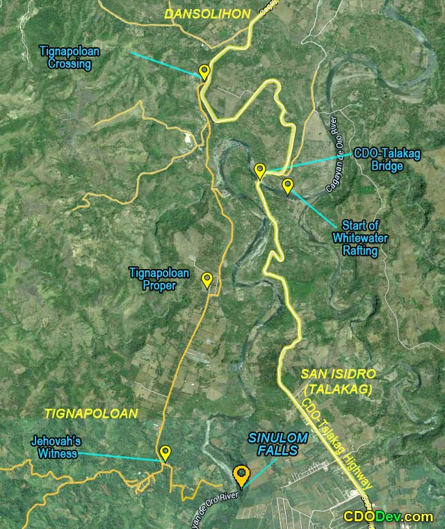 sinulom-map